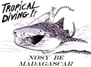 Logo Tropical Diving Nosy Be Madagascar