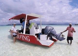Bateau tropical Diving Nosy Be