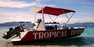 Tropical Diving Boat Nosy Be Madagascar